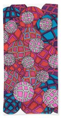 Cluster Of Spheres Beach Towel