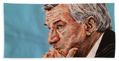 Coach Dean Smith Beach Towel