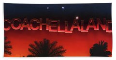 Coachellaland Beach Towel