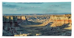 Beach Sheet featuring the photograph Coal Mine Canyon by Tom Kelly