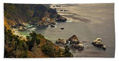 Coast Line Beach Towel