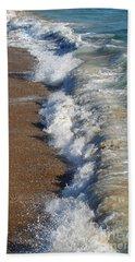 Coast Line Beach Towel