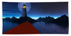 Coast Beach Towel by Mark Blauhoefer