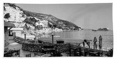 Coast Of Dubrovnik Beach Sheet