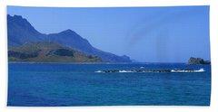 Coast Of Gramvousa Beach Towel
