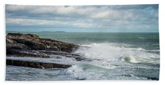 Coast Off The Hook Lighthouse Beach Towel