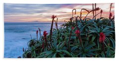 Coastal Aloes Beach Towel by Jonathan Nguyen