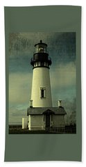 Coastal Breeze At Yaquina Head Beach Towel