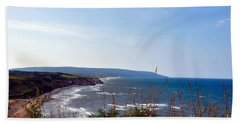 Coastal Cape Breton  Beach Sheet by Elaine Manley