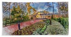 Coastal Carolina University Digital Watercolor Beach Towel