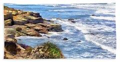 Coastal Dream Beach Sheet by Cedric Hampton