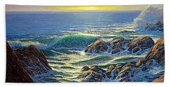 Coastal Evening Beach Towel