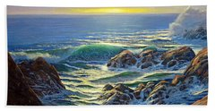 Coastal Evening Beach Towel