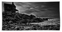 Coastal Home  Kennebunkport Maine Beach Towel by Bob Orsillo