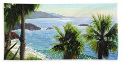 Coastal Palms Beach Towel