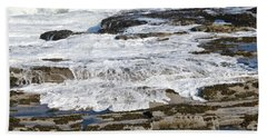 Coastal Washout Beach Towel