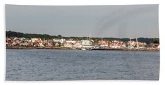 Coastline At Molle In Sweden Beach Towel