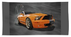 Cobra Power - Shelby Gt500 Mustang Beach Towel