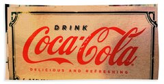 Coca Cola 1899 Canvas Print,photographic Print,art Print,framed Print,greeting Card,iphone Case, Beach Towel