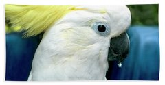 Cockatoo Bird Beach Towel