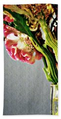 Beach Towel featuring the photograph Cockscomb Bouquet 5 by Sarah Loft