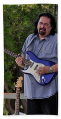Coco Montoya And His Ocean Blue Fender American Standard Stratoc Beach Towel