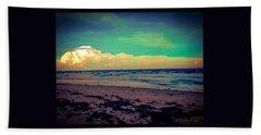 Cocoa Beach At Dusk Beach Sheet