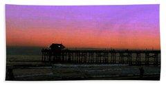 Cocoa Beach Sunset Beach Towel by Gary Wonning