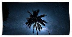Coconut Milky Way  Beach Towel