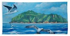Coco's Island, Costa Rica Beach Sheet