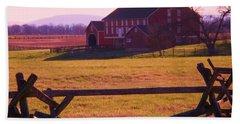 Codori Barn Gettysburg Beach Sheet