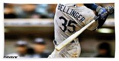 Cody Bellinger, Los Angeles Dodgers Beach Towel
