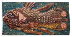 Coelacanth Beach Towel