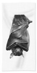 Coffie The Fruit Bat Beach Towel