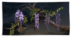 Cogan's Wisteria Tree Beach Towel