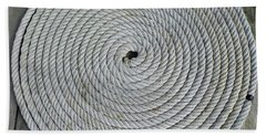 Coiled By D Hackett Beach Towel