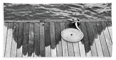 Coiled Rope Beach Towel