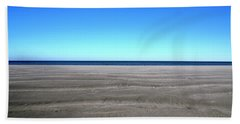 Cold Beach Day Beach Towel