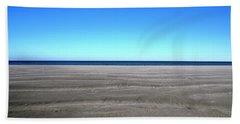 Cold Beach Day Beach Towel