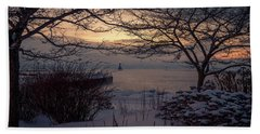 Cold Fingers Beach Towel