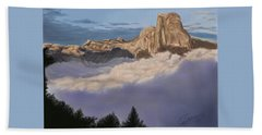 Cold Mountains Beach Towel