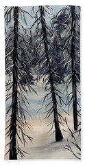 Cold Snap Beach Towel
