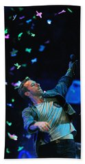 Coldplay1 Beach Towel by Rafa Rivas