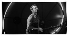 Coldplay11 Beach Towel by Rafa Rivas