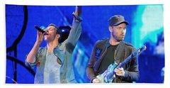 Coldplay6 Beach Towel
