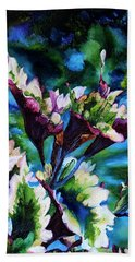 Coleus Beach Towel