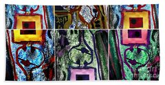 Collage-1 Beach Towel