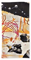 Collage Details Beach Towel