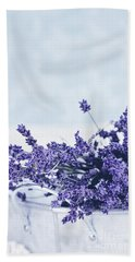 Collection Of Lavender  Beach Towel by Stephanie Frey