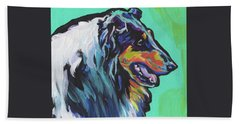 Collie Collie Beach Towel